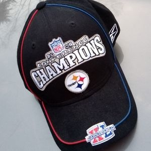 2005 Pittsburgh Steelers Conf Champ Hat NWT